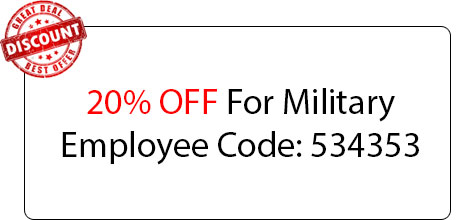 Military Employee Discount - Locksmith at North Massapequa, NY - North Massapequa Locksmith